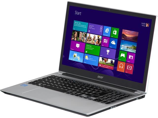 "Acer Laptop Aspire V5-571P-6485 Intel Core i5 3337U (1.80 GHz) 4 GB Memory 500 GB HDD Intel HD Graphics 4000 15.6"" Windows ..."