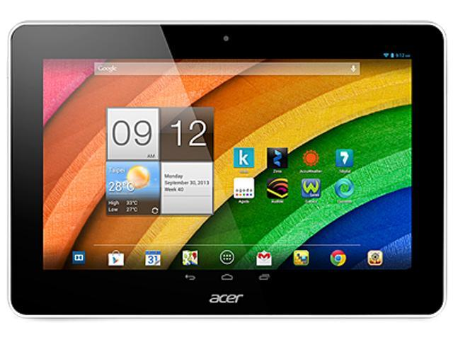 """Acer ICONIA A3-A10-81251G03n (NT.L2YAA.001) Quad Core Processor 1GB Memory 32GB 10.1"""" Touchscreen Tablet Android"""