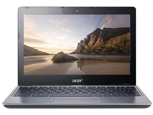 Acer Laptop Aspire C720-2103 Intel Celeron 2955U (1.40 GHz) 2 GB Memory 16 GB SSD Intel HD Graphics 11.6