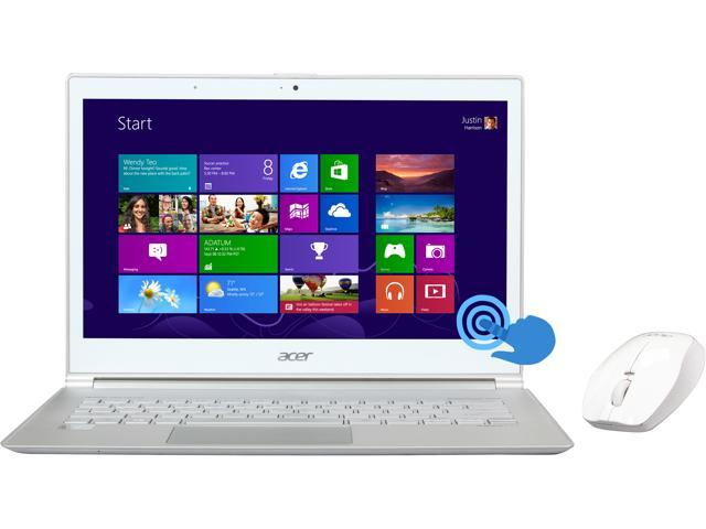 Acer S7-391-6413 Intel Core i5 4 GB Memory 128 GB SSD Touchscreen Notebook Windows 8