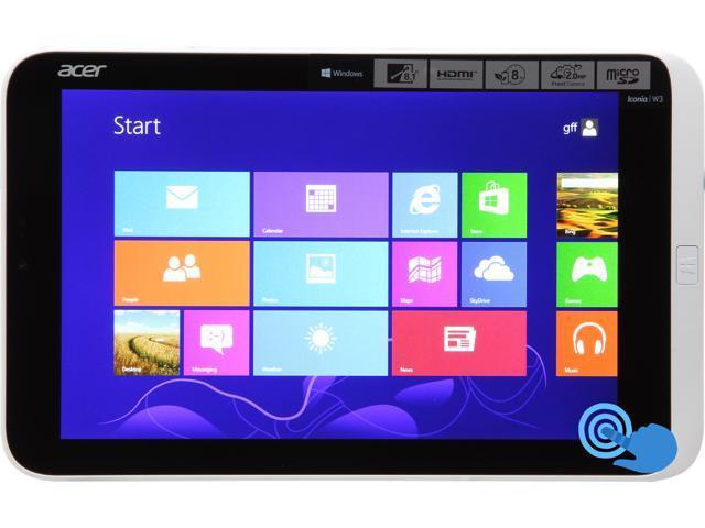 Acer Iconia Tab W Series W3-810-1416 Intel Atom 2 GB Memory 64 GB 8.1