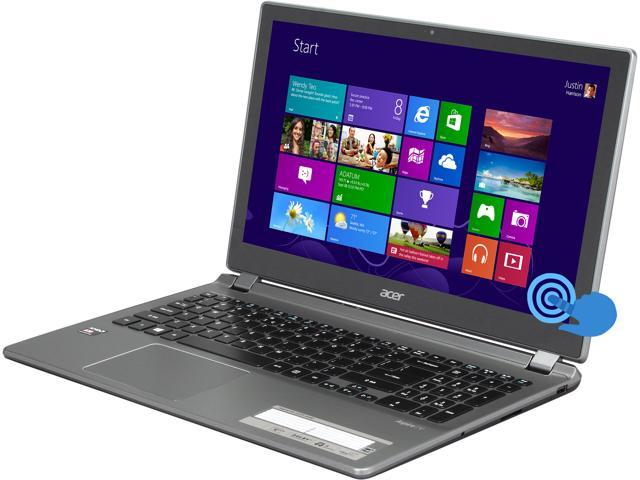 "Acer Laptop Aspire V5-552P-X440 AMD A10-Series A10-5757M (2.50 GHz) 8 GB Memory 1 TB HDD AMD Radeon HD 8650G 15.6"" Touchscreen ..."
