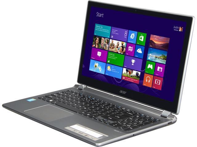 "Acer Aspire V5-573P-6486 15.6"" Notebook Intel Core i5-4200U 1.60GHz (2.60Ghz TURBO!), 12GB Memory, 1TB HDD, HDMI OUT, USB 3.0, Webcam, Windows 8"