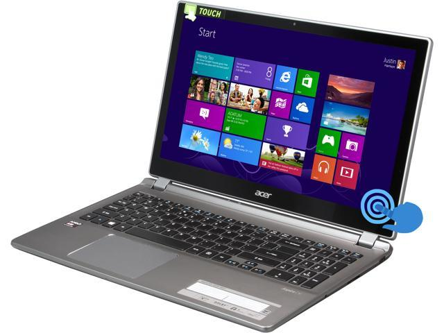 Acer Laptop Aspire V5 V5-552P-X637 AMD A10-Series A10-5757M (2.50 GHz) 8 GB Memory 1 TB HDD AMD Radeon HD 8650G 15.6