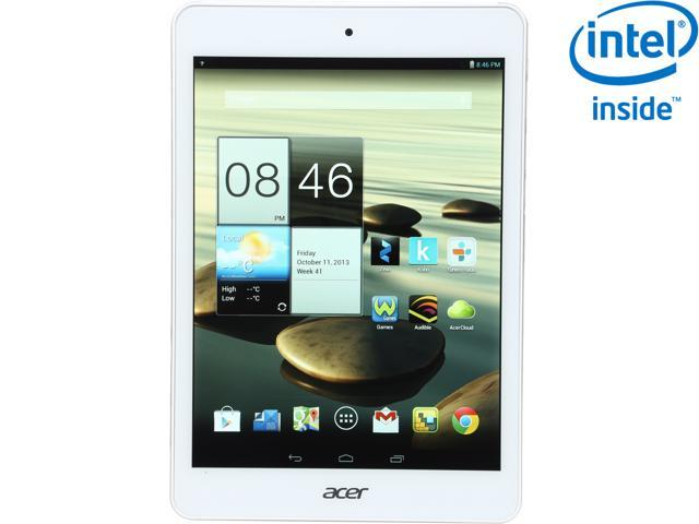 "Acer Iconia Tab A1-830 Android Tablet – 7.9"" Touchscreen 1GB RAM Intel Dual Core 16GB Storage (A1-830-1633)"