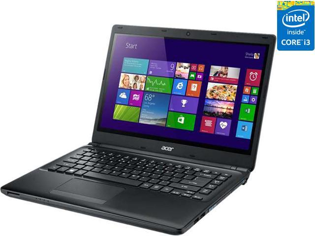 Acer Laptop TravelMate NX.V97AA.002 Intel Core i3 4010U (1.7 GHz) 4 GB Memory 500 GB HDD Intel HD Graphics 4400 14.0