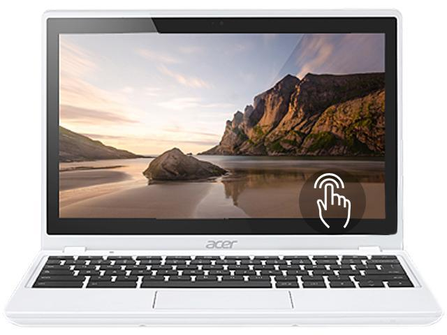 Acer Aspire C720P-2457 Chromebook Intel Celeron 2955U (1.40 GHz) 4 GB Memory 32 GB SSD 11.6
