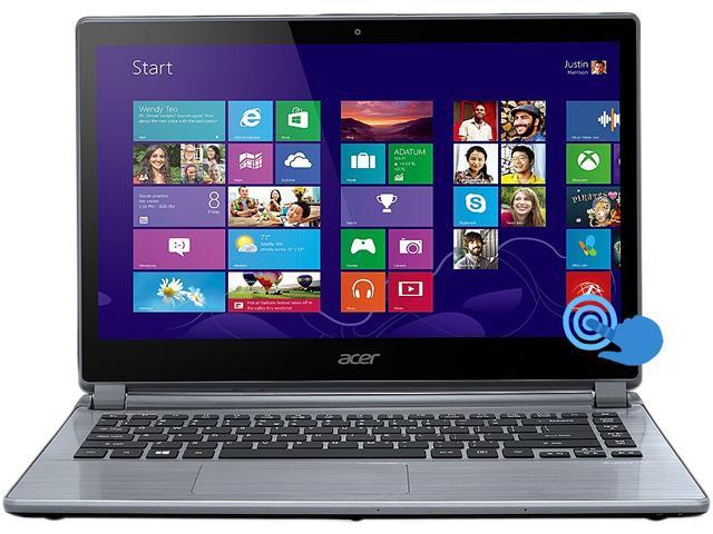 Acer V7-482P-5864 Ultrabook Intel Core i5 4200U (1.60 GHz) 500 GB HDD Intel HD Graphics 4400 Shared memory 14