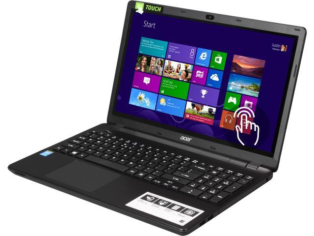 "Acer Laptop Aspire E5-571P-52QK Intel Core i5 4210U (1.70 GHz) 4 GB Memory 500 GB HDD Intel HD Graphics 4400 15.6"" Touchscreen ..."