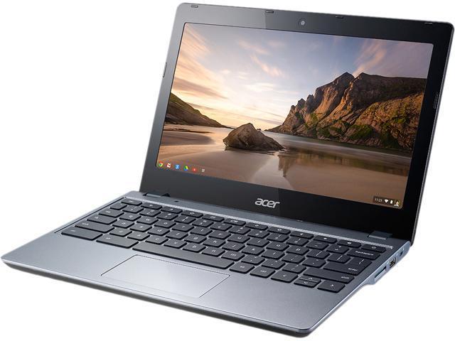 Acer C720-3445 Chromebook Intel Core i3 4005U (1.7 GHz) 4 GB Memory 32 GB SSD 11.6