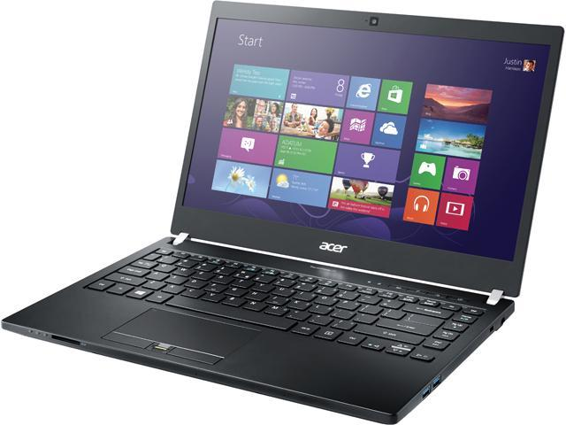 Acer Laptop TravelMate TMP645-S-51FE Intel Core i5 5200U (2.20 GHz) 8 GB Memory 256 GB SSD Intel HD Graphics 5500 14.0