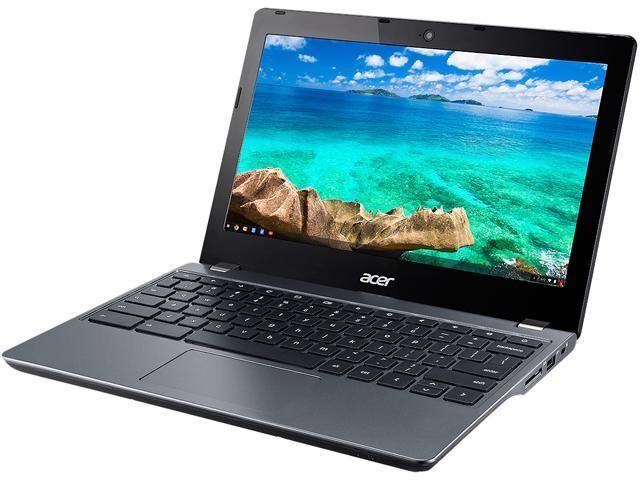 Acer C740-C32M-CA Bilingual Chromebook Intel Celeron 3205U (1.50 GHz) 4 GB DDR3L Memory 16 GB eMMC 11.6
