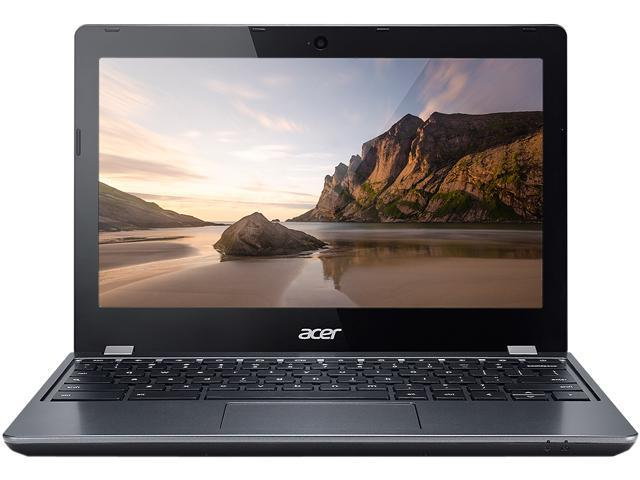 Acer C740-C66N-CA Chromebook Intel Celeron 3205U (1.50 GHz) 2 GB Memory 32 GB SSD 11.6