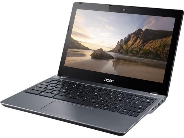 Acer C740-C9UD Chromebook Intel Celeron 3205U (1.50 GHz) 2 GB Memory 16 GB eMMC Intel HD Graphics 11.6