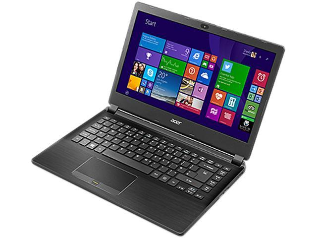 Acer Laptop TravelMate TMP446-M-54FV Intel Core i5 5200U (2.20 GHz) 8 GB Memory 256 GB SSD Intel HD Graphics 4400 14.0