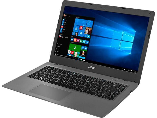 Acer Aspire One AO1-431-C4XG Cloudbook Intel Celeron N3050 (1.60 GHz) 64 GB SSD Intel HD Graphics Shared memory 14