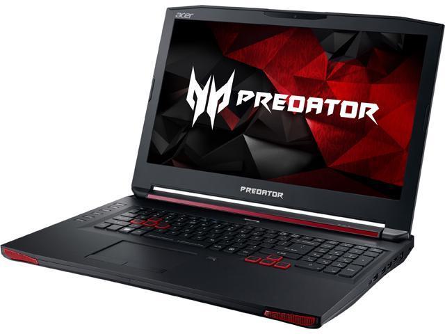 Acer Predator G9-791-79Y3 Predator Laptop Intel Core i7 6700HQ (2.60 GHz) 32 GB Memory 1 TB HDD 512 GB SSD NVIDIA GeForce GTX 980 4 GB GDDR5 17.3