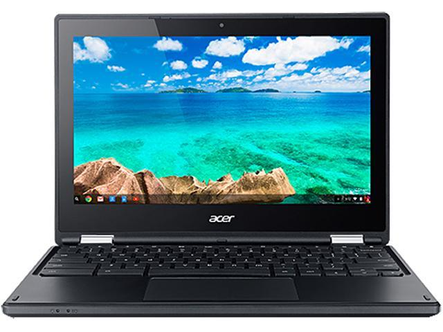 Acer C738T-C60Q Chromebook Intel Celeron N3050 (1.60 GHz) 4 GB DDR3L Memory 16 GB Flash Memory SSD 11.6
