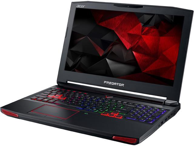 Acer Predator 15 G9-592-71EF Gaming Laptop Intel Core i7 6700HQ (2.60 GHz) 16 GB Memory 1 TB HDD 512 GB SSD NVIDIA GeForce GTX 980M 8 GB GDDR5 15.6