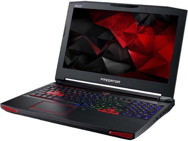 Acer Predator 15 G9-592-73BR Gaming Laptop Intel Core i7 6700HQ (2.60 GHz) 32 GB Memory 1 TB HDD 512 GB SSD NVIDIA GeForce GTX 980M 8 GB GDDR5 15.6