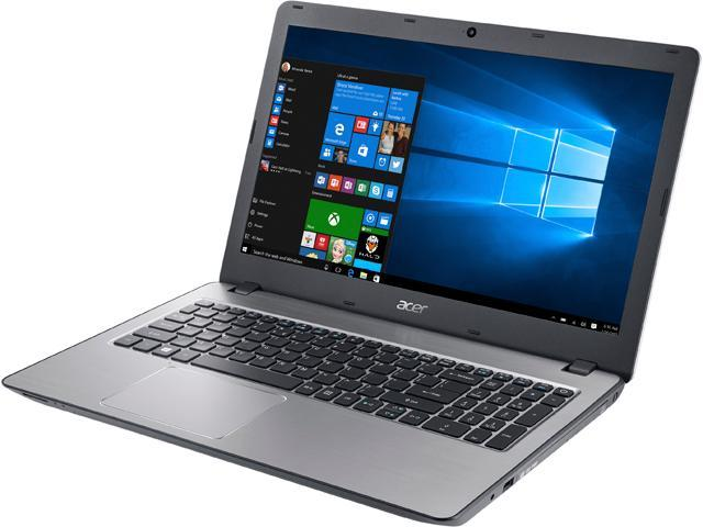 Acer Laptop Aspire F5-573G-7791 Intel Core i7 6500U (2.50 GHz) 8 GB Memory 256 GB SSD NVIDIA GeForce 940MX 15.6
