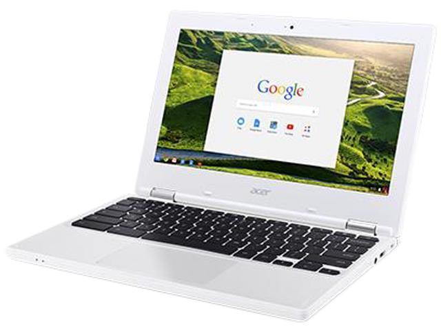 Acer CB3-131-C5RA Bilingual Chromebook Intel Celeron N2840 (2.16 GHz) 4 GB Memory 16 GB Flash SSD 11.6
