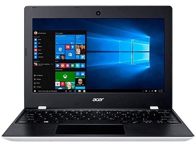 Acer Laptop Aspire One AO1-132-C3T3 Intel Celeron N3060 (1.60 GHz) 2 GB Memory 32 GB Flash Memory SSD Intel HD Graphics 400 11.6