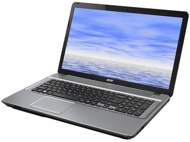 Acer Laptop Aspire E E1-771-6496 Intel Core i5 3230M (2.60 GHz) 6 GB Memory 500 GB HDD Intel HD Graphics 4000 17.3