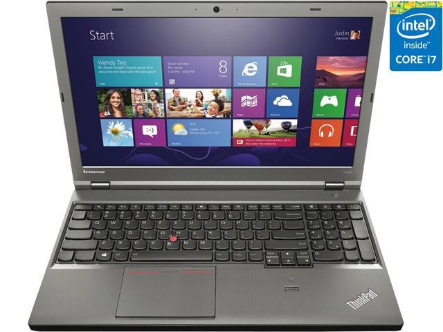 "ThinkPad Laptop T Series T540p (20BE003NUS) Intel Core i7 4600M (2.90 GHz) 4 GB Memory 500 GB HDD HD 4600 15.6"" Windows 7 ..."