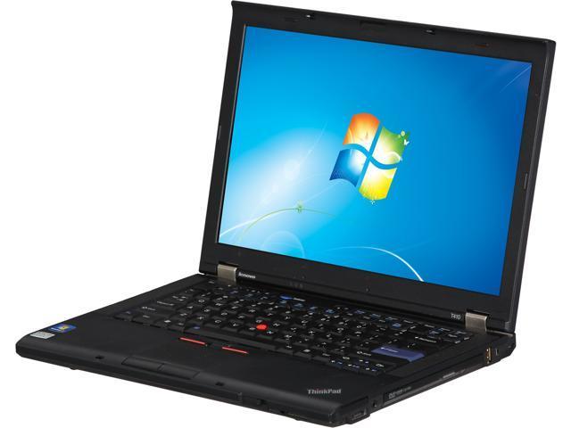 ThinkPad T Series T410 Notebook Intel Core i5 2.67GHz 4GB Memory 320GB HDD 14.1