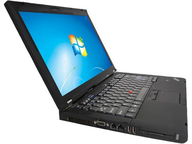 ThinkPad Notebook (B grade: Scrach and Dent) T Series T400 Intel Core 2 Duo 2.20 GHz 2 GB Memory 160 GB HDD Intel GMA 4500MHD 14.1