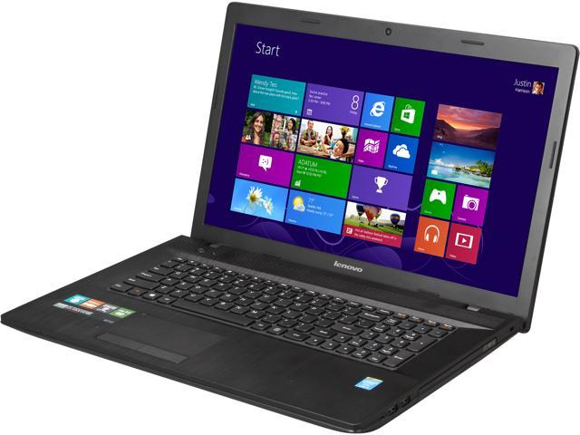 Lenovo Laptop Essential G710 (59421779) Intel Core i5 4210M (2.6 GHz) 6 GB Memory 1 TB HDD Intel HD Graphics 4400 17.3