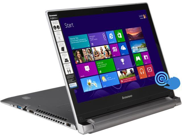 "Lenovo Flex 2 14 (59418275) Intel Core i7 8 GB Memory 256 GB SSD 14"" Touchscreen 2-in-1 Ultrabook Windows 8.1"