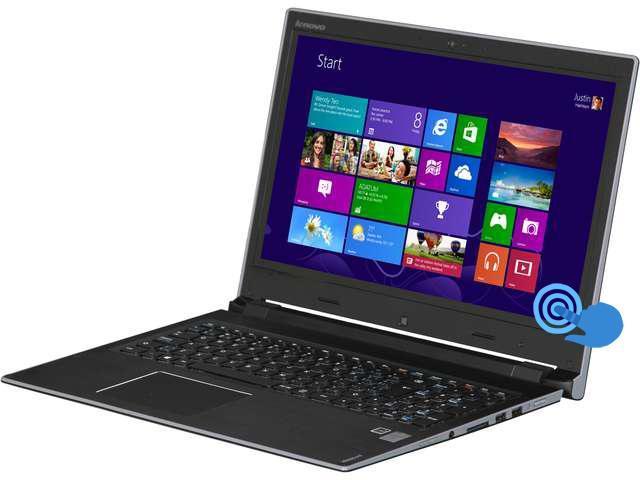 "Lenovo IdeaPad Flex 15 Touch Dual Mode 15.6"" Notebook Intel Core i7-4500U 1.80Ghz (3.0Ghz Turbo Boost), 8GB DDR3L, 500GB + 8GB NAND Flash Solid ..."