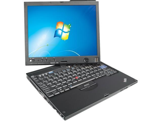 "Lenovo Notebook (Grade B) X61 NIX61TCM16HEF-G Intel Core 2 Duo 1.60 GHz 2 GB Memory 80 GB HDD Intel GMA X3100 12.1"""