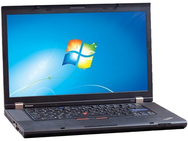 Lenovo T510 NotebookIntel Core i5 2.40GHz 4GB Memory 256GB SSD 15.5