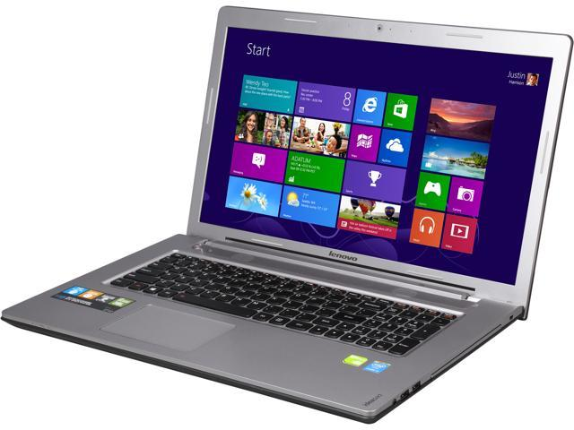 Lenovo Laptop Z710 (59433088) Intel Core i7 4710MQ (2.50GHz) 8GB Memory 1TB HDD NVIDIA GeForce GT 840M 17.3