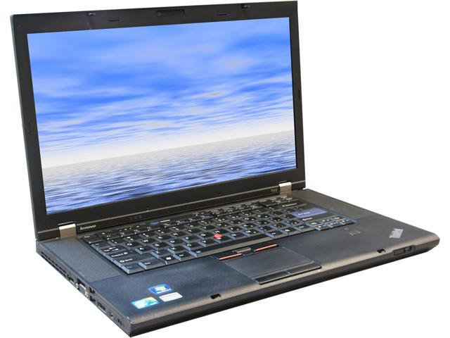 Lenovo Laptop T510 Intel Core i5 2.53 GHz 4 GB Memory 250 GB HDD 15.5