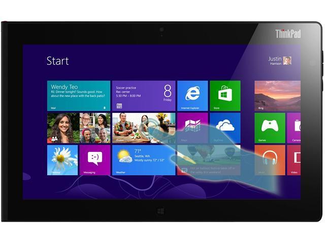 ThinkPad Tablet 2 Intel Atom 2GB Memory 64GB eMMC 10.1