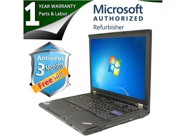 Lenovo Laptop T410 Intel Core i5 520M (2.40 GHz) 4 GB Memory 500 GB HDD Intel HD Graphics 14.1