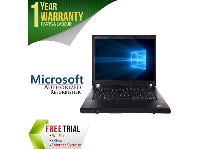 Lenovo Laptop T61 Intel Core 2 Duo T7100 (1.80 GHz) 2 GB Memory 80 GB HDD 15.1