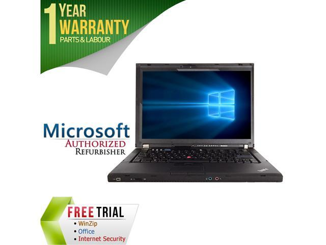 Lenovo Laptop T400 Intel Core 2 Duo P8400 (2.26 GHz) 4 GB Memory 160 GB HDD 14.1