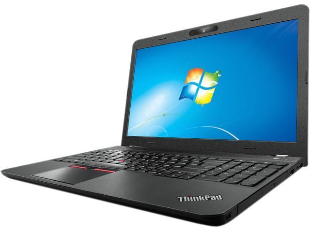 ThinkPad Edge E550 (20DF00EDUS) Notebook Intel Core i3 5005U (2.0 GHz) 4 GB Memory 500 GB HDD Intel HD Graphics 5500 15.6