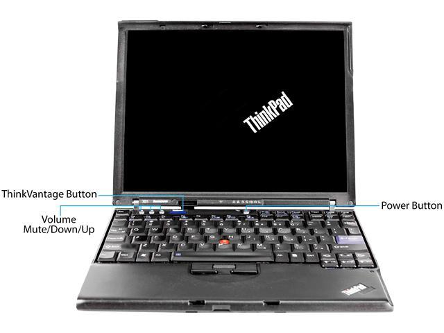 Lenovo Laptop X61 Intel Core 2 Duo 1.80 GHz 4 GB Memory 320 GB HDD 12.1
