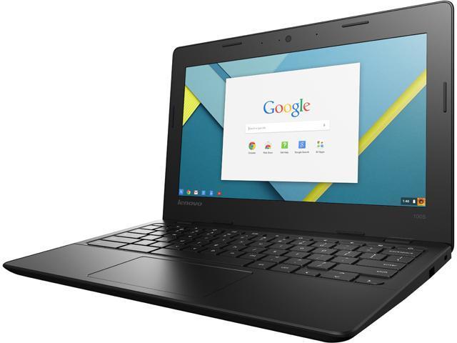 Lenovo 80SF0001US Chromebook Intel Celeron N3050 (1.60 GHz) 4 GB Memory 16 GB eMMC SSD 11.6