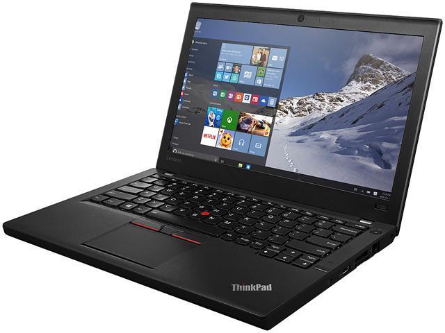 Lenovo Laptop ThinkPad X260 (20F6005HUS) Intel Core i5 6200U (2.30 GHz) 8 GB Memory 500 GB HDD Intel HD Graphics 520 12.5