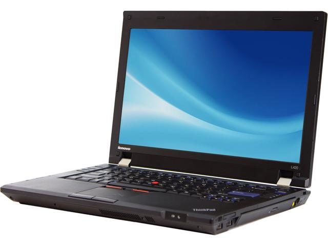 Lenovo C Grade Laptop L420 Intel Core i3 2310M (2.10 GHz) 4 GB Memory 320 GB HDD 14.0