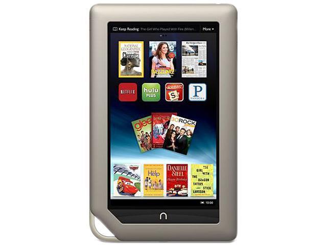 Barnes & Noble NOOK BN-RTV250-8GB-K Tablet TI OMAP4430 1.00GHz 7