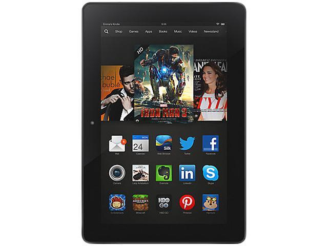 "Amazon Kindle Fire HDX 7 Special Offers 16GB Flash 7.0"" Tablet"