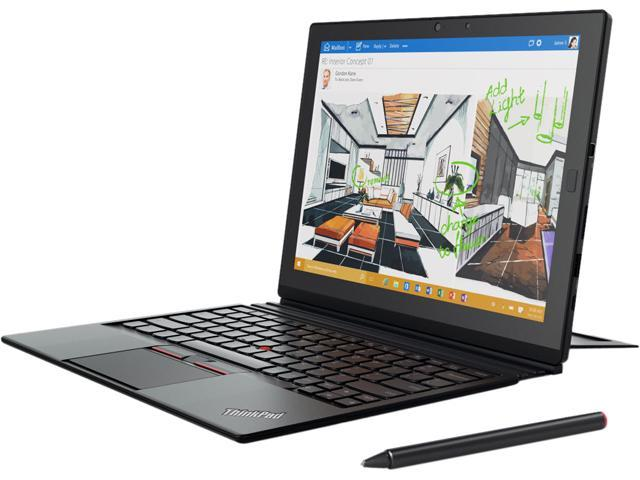 ThinkPad X1 (20GG001VUS) 2-in-1 Laptop Intel Core M5 6Y57 (1.10 GHz) 4 GB Memory 128 GB SSD Intel HD Graphics 515 12